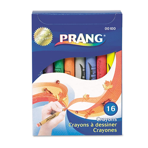 Crayons Made with Soy, 16 Colors/Box. Picture 1