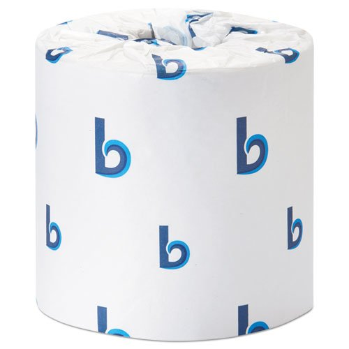 Office Packs Standard Bathroom Tissue, 2-Ply, White, 350 Sheets/RL, 48 Rolls/CT. Picture 1