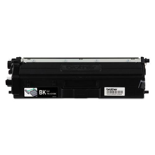 TN431BK Toner, 3000 Page-Yield, Black. Picture 1