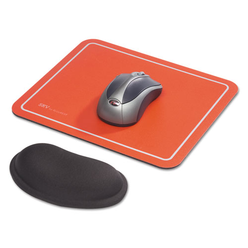 Optical Mouse Pad, 9 x 7-3/4 x 1/8, Red. Picture 3