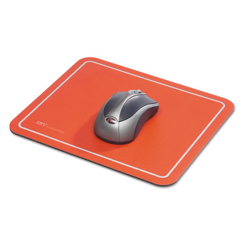 Optical Mouse Pad, 9 x 7-3/4 x 1/8, Red. Picture 4