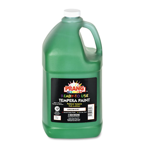Ready-to-Use Tempera Paint, Green, 1 gal. Picture 1