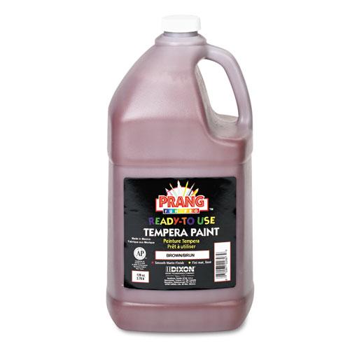 Ready-to-Use Tempera Paint, Brown, 1 gal. Picture 1