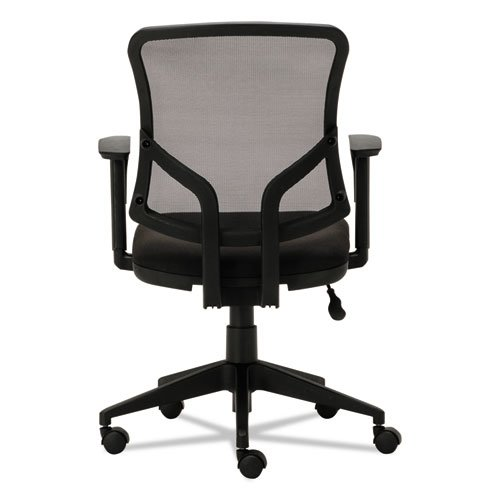 Everyday Task Office Chair, Supports up to 275 lbs., Black Seat/Black Back, Black Base. Picture 4