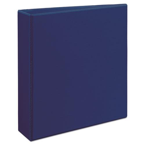 """Durable View Binder with DuraHinge and Slant Rings, 3 Rings, 2"""" Capacity, 11 x 8.5, Blue. Picture 10"""