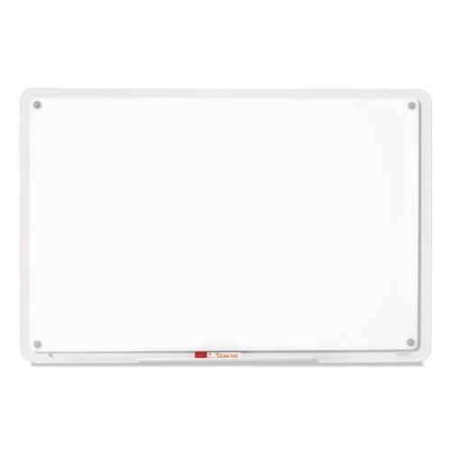 iQ Total Erase Board, 23 x 16, White, Clear Frame. Picture 3