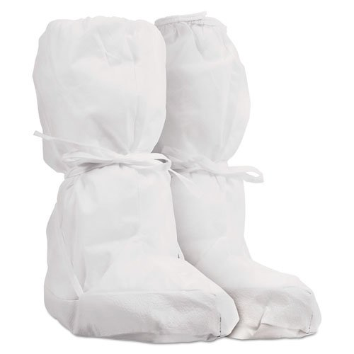 Pure A5 Sterile Boot Covers, White, Small/Medium, 30/Carton. Picture 1