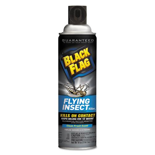 Black Flag Flying Insect Killer 3, 18 oz Aerosol, Fresh. The main picture.