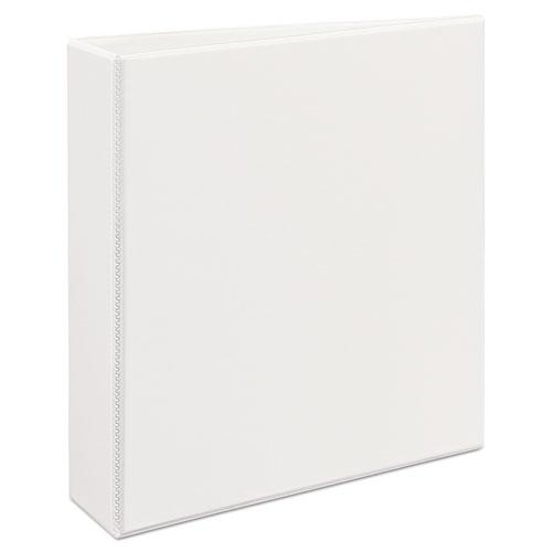 """Heavy-Duty View Binder with DuraHinge and One Touch EZD Rings, 3 Rings, 2"""" Capacity, 11 x 8.5, White. Picture 1"""