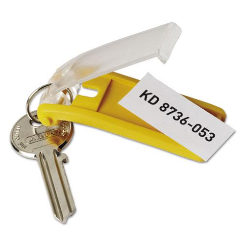 Key Tags for Locking Key Cabinets, Plastic, 1 1/8 x 2 3/4, Assorted, 24/Pack. Picture 6