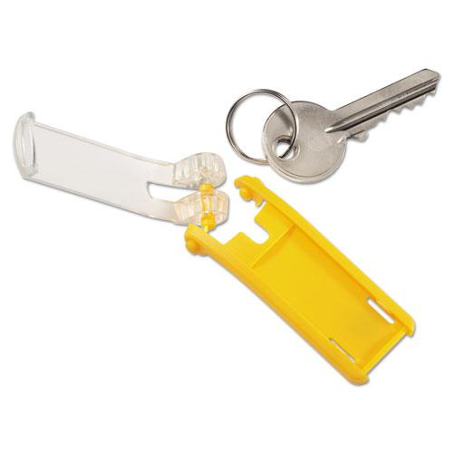 Key Tags for Locking Key Cabinets, Plastic, 1 1/8 x 2 3/4, Assorted, 24/Pack. Picture 5
