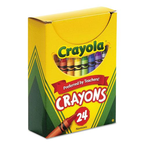 Classic Color Crayons, Tuck Box, 24 Colors. Picture 2