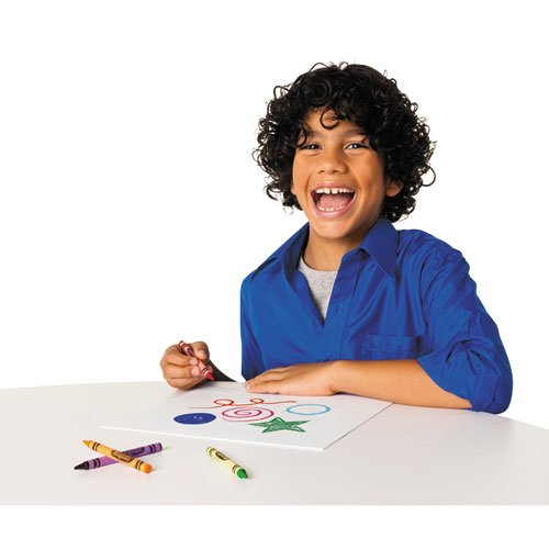 Classic Color Crayons in Flip-Top Pack with Sharpener, 96 Colors. Picture 9