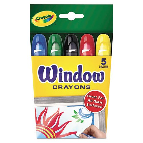 Washable Window Crayons, 5/Set. Picture 2