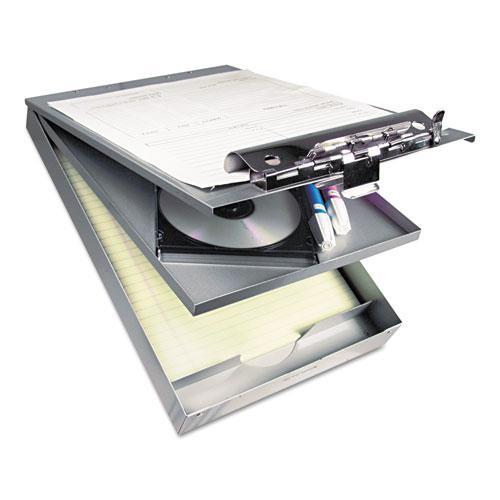 "Cruiser Mate Aluminum Storage Clipboard, 1.5"" Clip Cap, 8.5 x 12 Sheets, Silver. Picture 2"