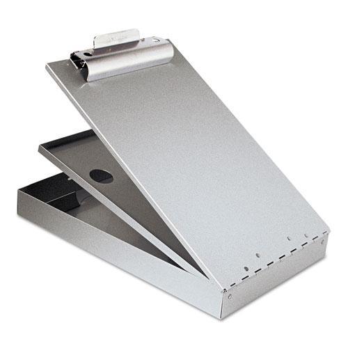 "Cruiser Mate Aluminum Storage Clipboard, 1.5"" Clip Cap, 8.5 x 12 Sheets, Silver. Picture 1"