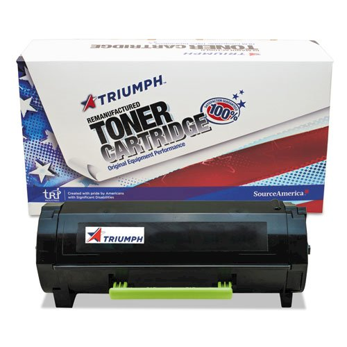 Remanufactured 50F0HA0/50F1H00 (MX310) High-Yield Toner, 5000 Page-Yield, Black. The main picture.