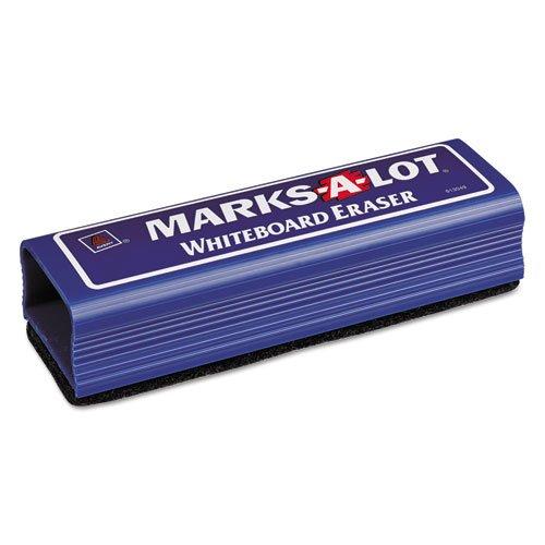 MARKS A LOT Dry Erase Eraser, Felt, 6 1/4w x 1 7/8d x 1 1/4h. Picture 1