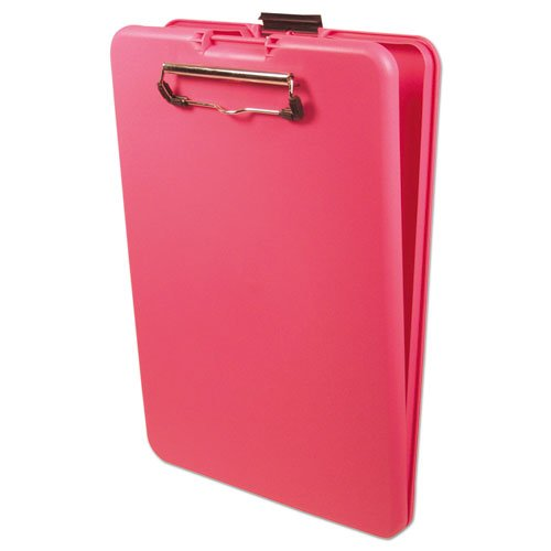 """SlimMate Storage Clipboard, 1/2"""" Clip Capacity, Holds 8 1/2 x 11 Sheets, Pink. Picture 2"""