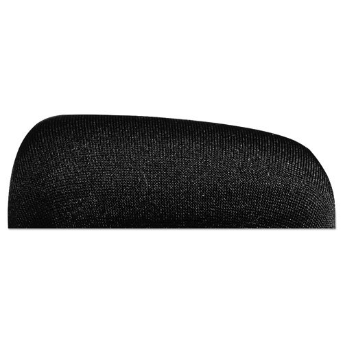 Keyboard Wrist Rest, Memory Foam, Non-Skid Base, 19 x 2-1/2 x 3/4, Black. Picture 4