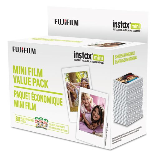 Instax Mini Film, 800 ASA, 60-Exposure Roll. Picture 1