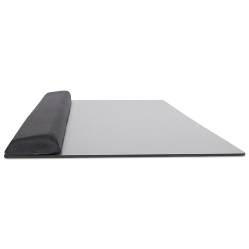 Extended Keyboard Wrist Rest, Memory Foam, Non-Skid Base, 27 x 11 x 1, Black. Picture 5
