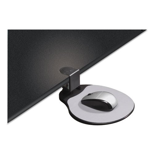 Clamp On Mouse Platform, 7.75 x 8, Black. Picture 4