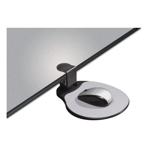 Clamp On Mouse Platform, 7.75 x 8, Black. Picture 5