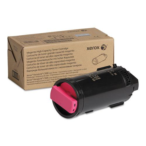 106R04015 High-Yield Toner, 9,000 Page-Yield, Magenta, TAA Compliant. Picture 1