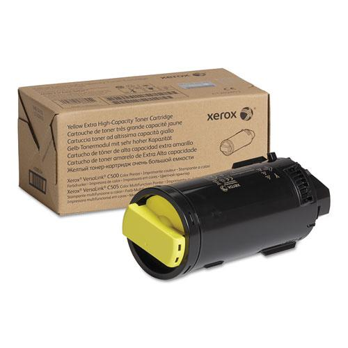 106R03868 Extra High-Yield Toner, 9000 Page-Yield, Yellow. Picture 1