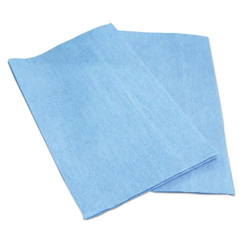 EPS Towels, Unscented, 13 x 21, Blue, 150/Carton. Picture 1