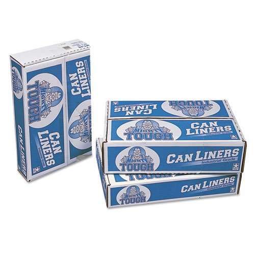 Linear Low Density Can Liners, 30 gal, 0.75 mil, 30 x 36, White, 200/Carton. Picture 1