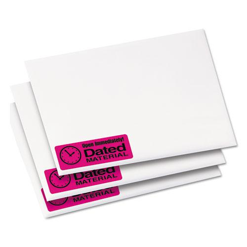 High-Visibility Permanent Laser ID Labels, 1 x 2 5/8, Neon Magenta, 750/Pack. Picture 7