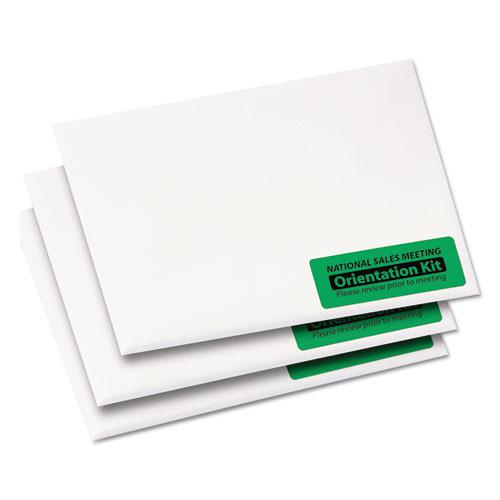 High-Visibility Permanent Laser ID Labels, 1 x 2 5/8, Neon Green, 750/Pack. Picture 7
