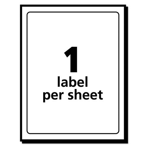 Removable Multi-Use Labels, Inkjet/Laser Printers, 3 x 5, White, 40/Pack, (5450). Picture 3