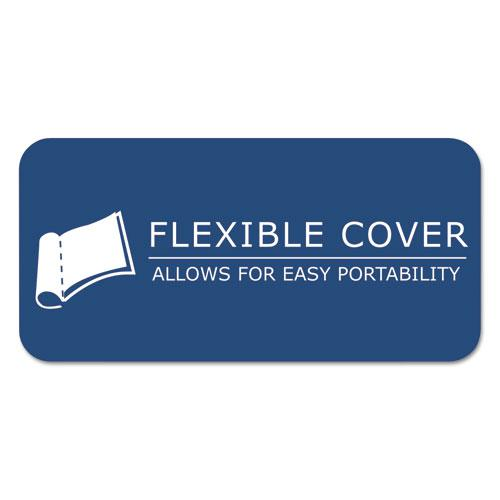 Marble Cover Composition Book, Wide/Legal Rule, Black Cover, 8.5 x 7, 48 Sheets. Picture 4
