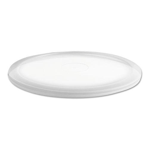 MicroLite Deli Tub Lid, Clear, Over-Cap Fit, 500/Carton. Picture 1