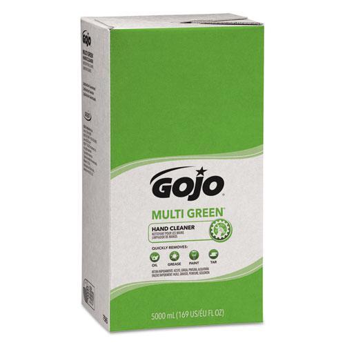 MULTI GREEN Hand Cleaner Refill, 5000mL, Citrus Scent, Green, 2/Carton. Picture 1