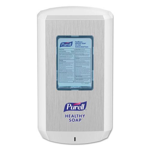 CS6 Soap Touch-Free Dispenser, 1,200 mL, 4.88 x 8.8 x 11.38, White. Picture 1