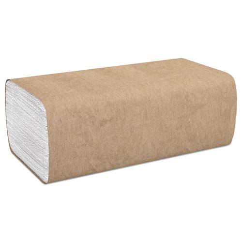 """Select Folded Paper Towels, 1-Ply, 9"""" x 9.45"""", White, 250/Pack, 16 Packs/Carton. Picture 1"""