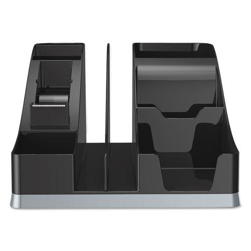Silhouettes All-In-One Caddy, Black/Silver. Picture 6