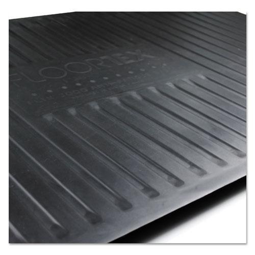AFS-TEX 2000 Anti-Fatigue Mat, Rectangle, 16 x 24, Midnight Black. Picture 3