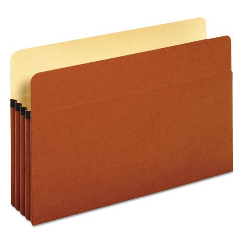"""Redrope Expanding File Pockets, 3.5"""" Expansion, Legal Size, Redrope, 25/Box. Picture 1"""