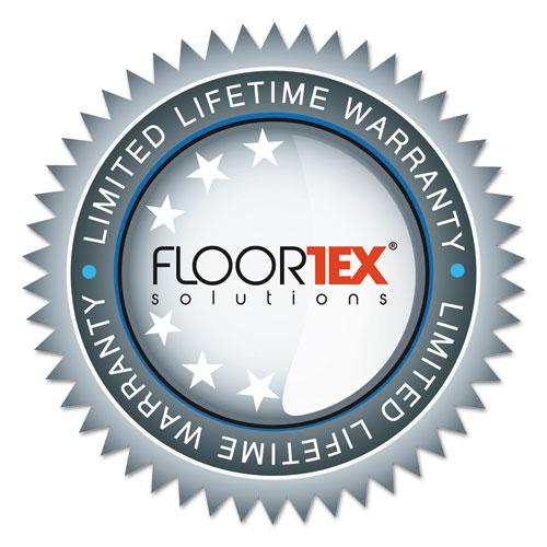 """Cleartex Ultimat Chair Mat, Clear Polycarbonate, For Low & Medium Pile Carpets (up to 1/2""""), Rectangular with Lip, Size 48"""" x 53"""". Picture 5"""