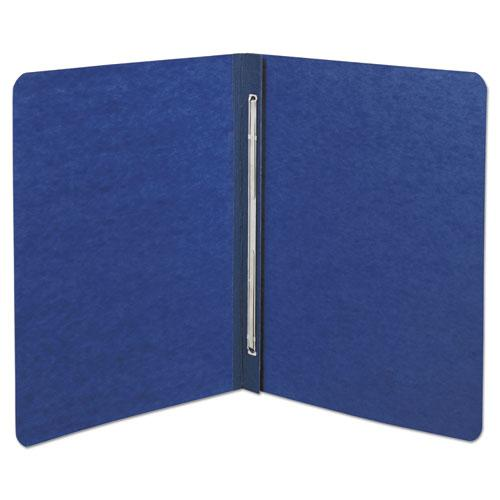 "Presstex Report Cover, Side Bound, Prong Clip, Letter, 3"" Cap, Dark Blue. Picture 2"