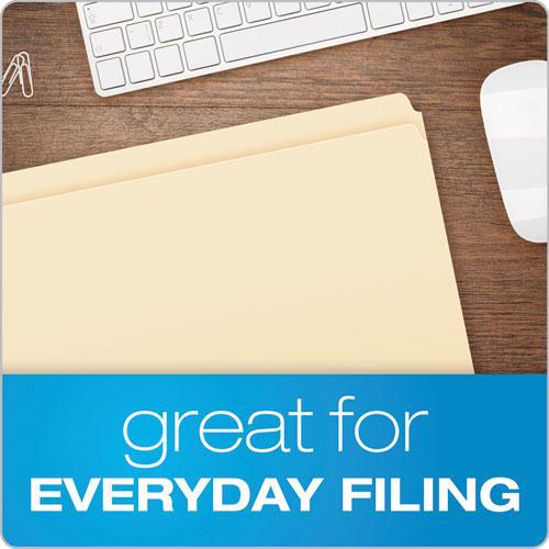 Manila File Folders, Straight Tab, Legal Size, 100/Box. Picture 4