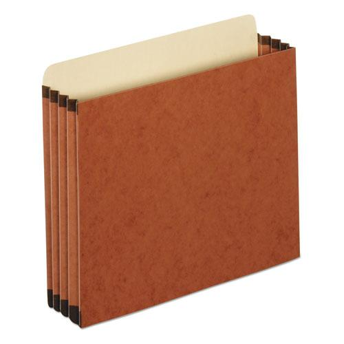"""File Cabinet Pockets, 3.5"""" Expansion, Letter Size, Redrope, 10/Box. Picture 1"""