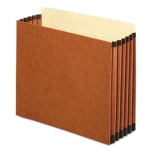 """File Cabinet Pockets, 5.25"""" Expansion, Letter Size, Redrope, 10/Box. Picture 1"""