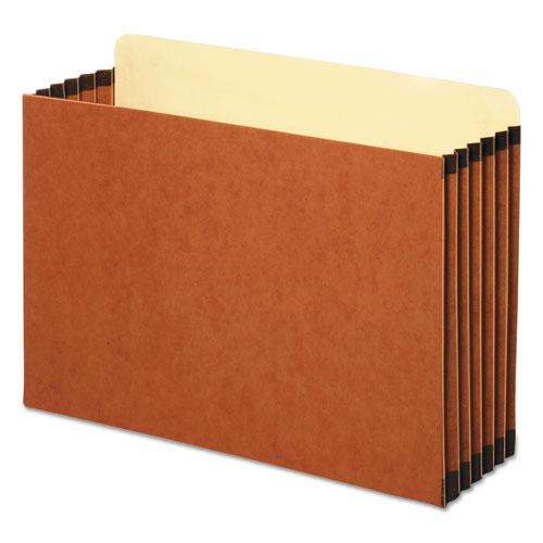 """File Cabinet Pockets, 5.25"""" Expansion, Legal Size, Redrope, 10/Box. Picture 1"""