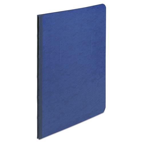 "Presstex Report Cover, Side Bound, Prong Clip, Letter, 3"" Cap, Dark Blue. Picture 1"